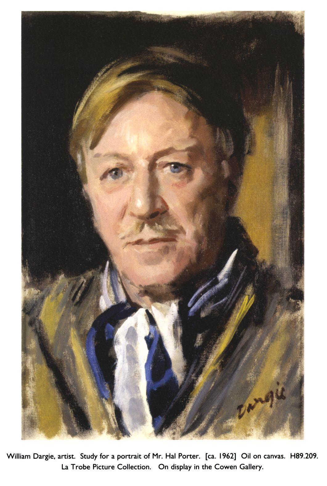 William Dargie, artist. Study ...